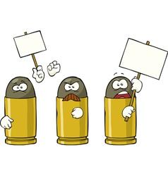 Striking ammunition vector