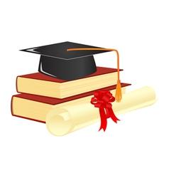 Graduation mortar vector