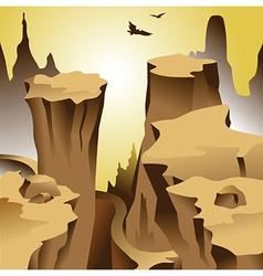 Canyon vector