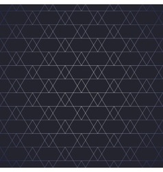 Repeating geometric tiles with triangles seamless vector