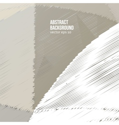 Abstract background scribble and color vector