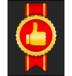 Best choice medal vector