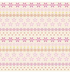 Floral lace on latte background vector