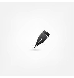Pen icon vector