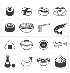 Icon japan food vector