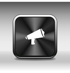 Speaker icon broadcasting speak isolated scream sp vector