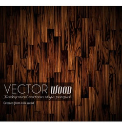 Parquet background with old wood texture vector