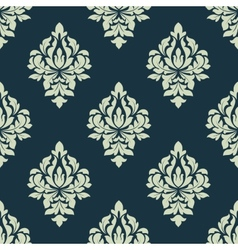 Classic damask seamless pattern vector