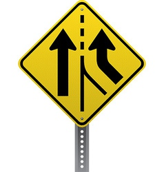 Added lane sign vector