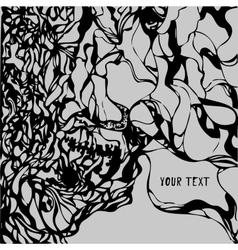 Grunge paint texture background vector