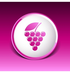 Label logo design winery wine grape premium vector