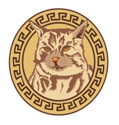 Ringleader cat vector