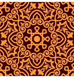 Bold intricate arabic seamless pattern vector