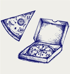 Pizzas vector