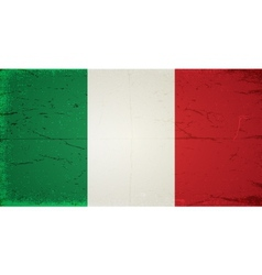 Grunge flags - italy vector