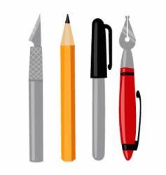 Craft tools vector
