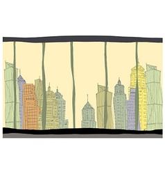 Creative cityscape vector