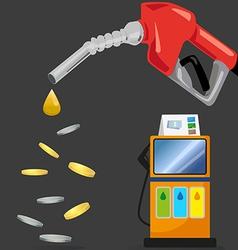 Gasstation vector