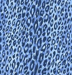 Leopard skin pattern vector