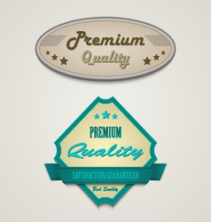 Retro vintage premium web design elements vector