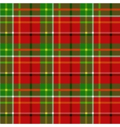 Christmas squared seamless tartan fabric vector
