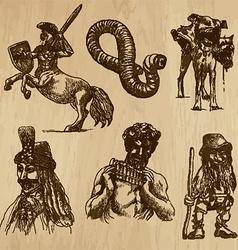 Myths - an hand drawn pack vector