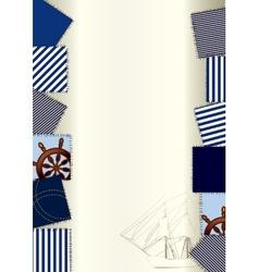 Sea backdrop vector