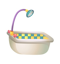 Icon bath vector