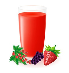 Berry juice vector