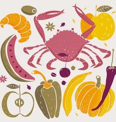 Foods vector