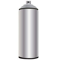 Spray bottle aluminum vector