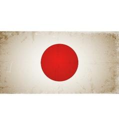 Grunge flags - japan vector