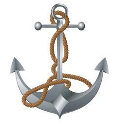 Metal anchor vector