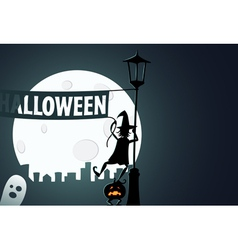 Halloween preparations vector