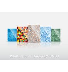 Smartphone wallpapers vector