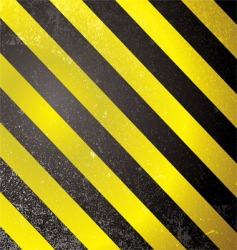 Warning grunge stripe vector