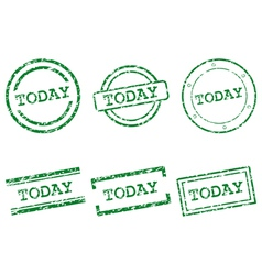 Today stamps vector