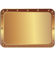 Metal platinum vector