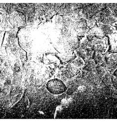 Black cracked background vector
