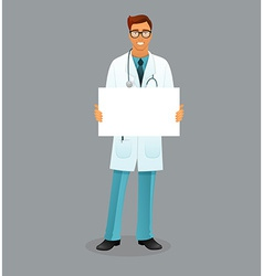 Doctor character man image vector