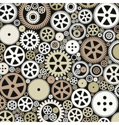 Background of gears vector
