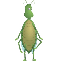 Green insect max vector