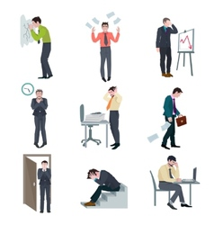 Failure business set vector