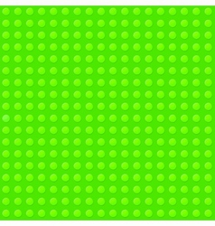 Green seamless background of plastic construction vector