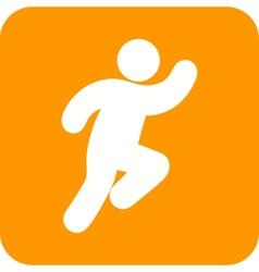 Running person vector