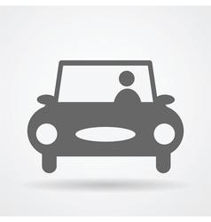Car web icon vector