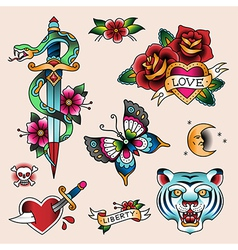 Tattoo love vector