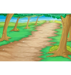 Forest path vector