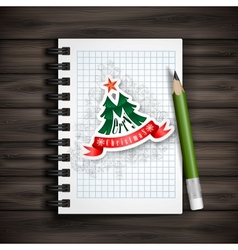 Christmas and new year symbols vector