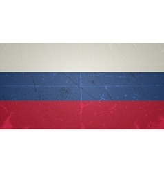Grunge flags - russian federation vector
